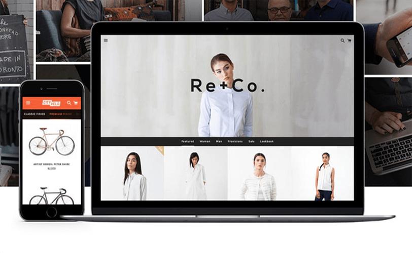 Crie uma loja online com o Shopify