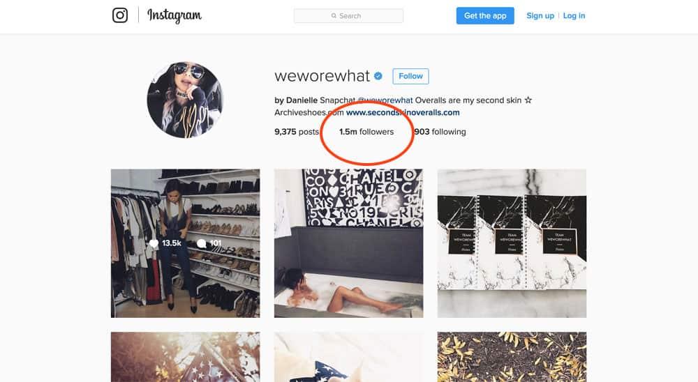 Influenciadores Instagram
