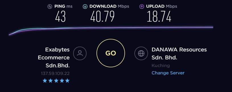 TorGuard VPN Speed Test