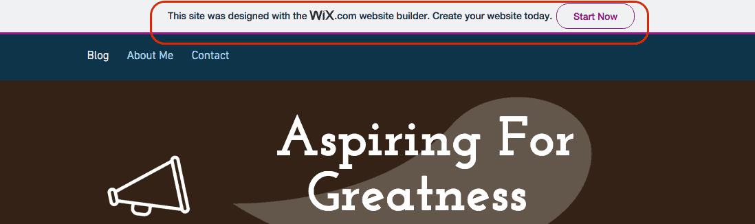 Wix Branding