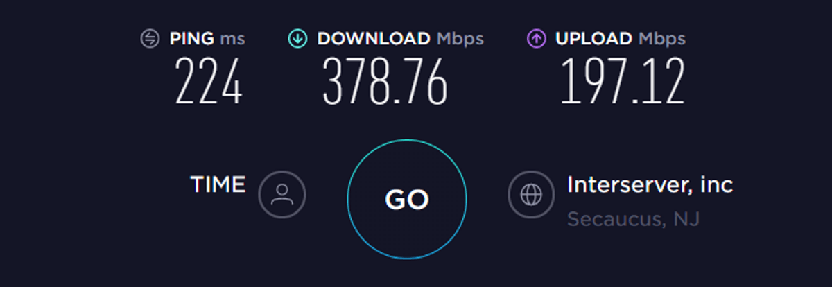 expressvpn speed test US vpn off